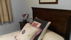 Cama o camas de una habitación en El rincon de Paco