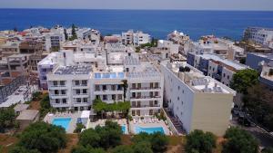 A bird's-eye view of Melpo Hotel