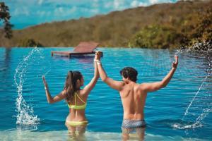 The swimming pool at or near Villas Supreme Hotel