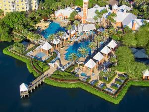 Uma vista aérea de Hilton Grand Vacations at SeaWorld
