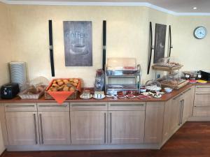 Küche/Küchenzeile in der Unterkunft Landhaus Bergkrone