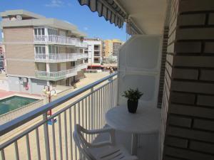 Un balcón o terraza de Apartamentos Forner