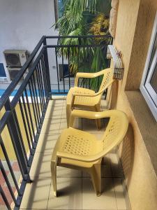 Балкон или терраса в Отель Арокс