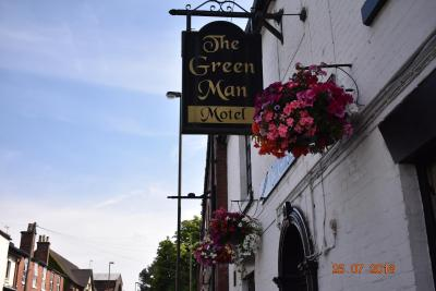 The Green man motel - Laterooms