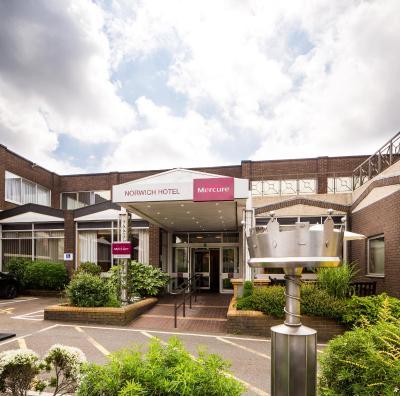 Mercure Norwich Hotel - Laterooms