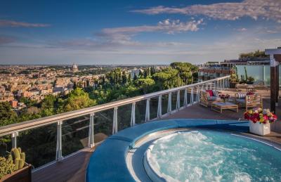 Rome Cavalieri, Waldorf Astoria Hotels & Resorts - Laterooms