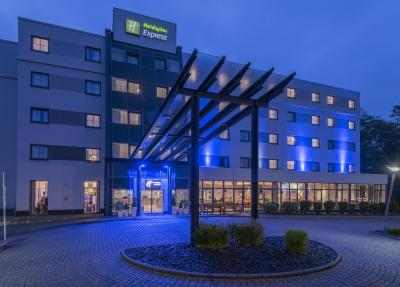 Holiday Inn Express FRANKFURT AIRPORT - Laterooms