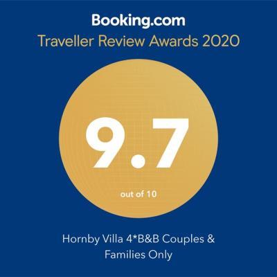 The Hornby Villa 4*B&B--Winner; Of A Tripadvisor  Award For Excellence 2015 - Laterooms