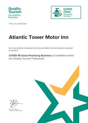 Atlantic Tower Motor Inn - Laterooms