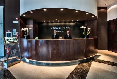 Crowne Plaza MILAN CITY - Laterooms