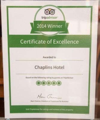 Chaplins Hotel - Laterooms