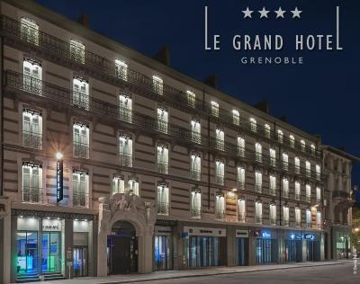Le Grand Hôtel Grenoble Centre - Laterooms