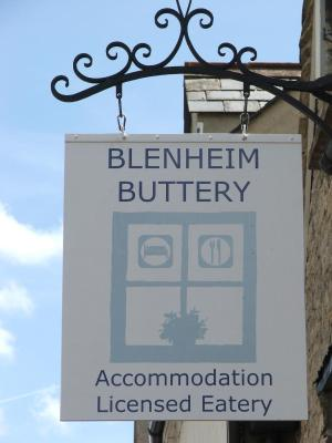 The Blenheim Buttery - Laterooms
