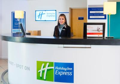Holiday Inn Express CAMBRIDGE - Laterooms
