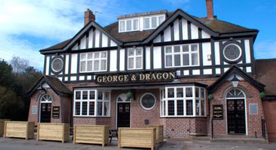 George & Dragon - Laterooms