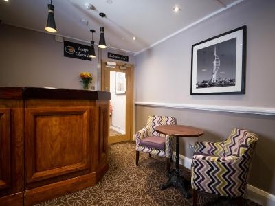 Innkeeper's Lodge Portsmouth, Cosham - Laterooms