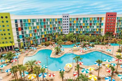 Universal's Cabana Bay Beach Resort - Laterooms