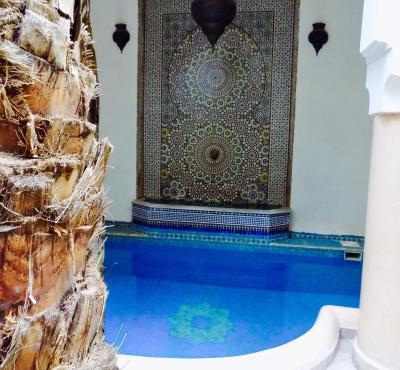 Riad Les Trois Palmiers  El bacha - Laterooms