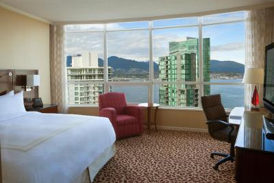 Vancouver Marriott Pinnacle Downtown - Laterooms