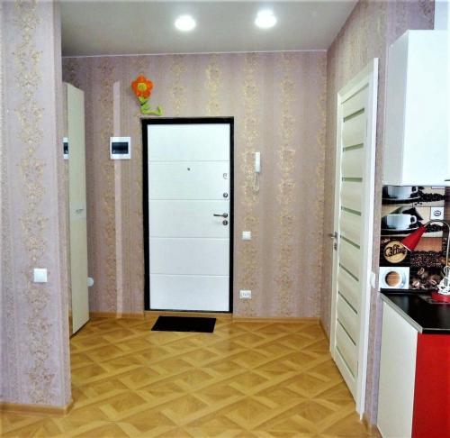 Телевизор и/или развлекательный центр в Apartment on Anapskaya 25
