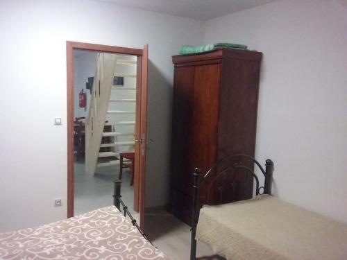 Postel nebo postele na pokoji v ubytování Penzion Schwarzava