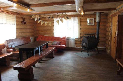 Гостиная зона в Country House Krutoiar