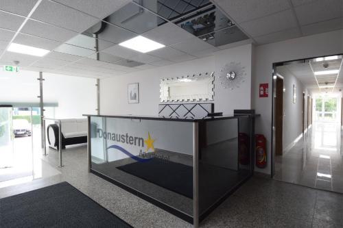 Lobby/Rezeption in der Unterkunft Aparthotel Donaustern