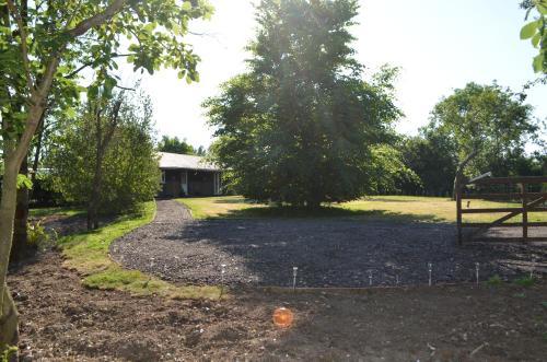 A garden outside Copton Thatch Lodge