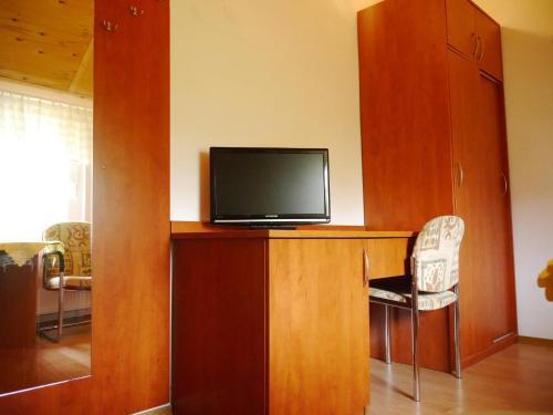 Telewizja i/lub zestaw kina domowego w obiekcie Bursztyn