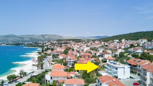 A bird's-eye view of Apartments Soho