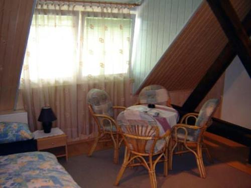 A seating area at Apartment Park Crni Lug