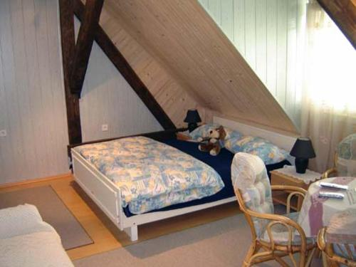 A bed or beds in a room at Apartment Park Crni Lug