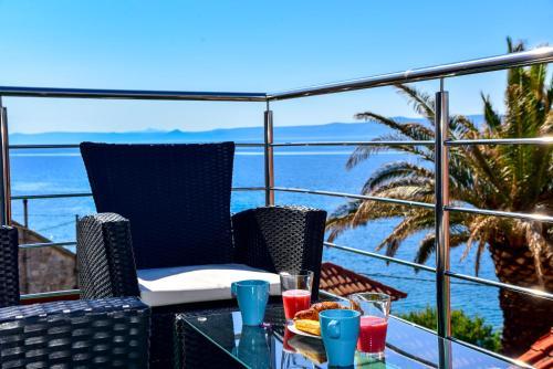Balkón nebo terasa v ubytování Sea Pearl
