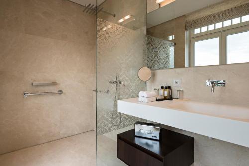 A bathroom at Hotel Steirerschlössl
