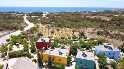 A bird's-eye view of Petroto Villas