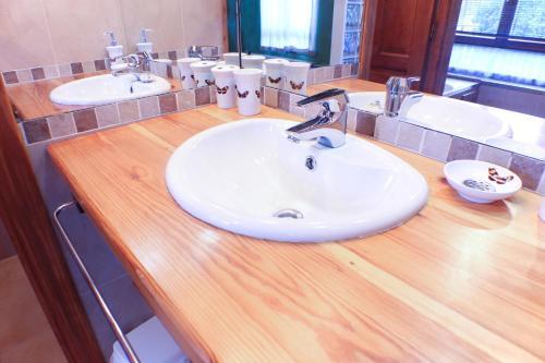 Un baño de Apartamentos La Picota