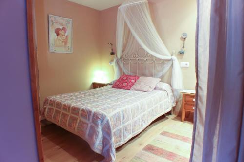 Cama o camas de una habitación en Apartamentos La Picota