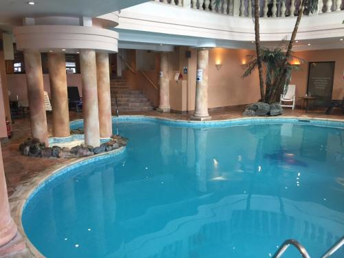 The swimming pool at or close to White Hart Hotel