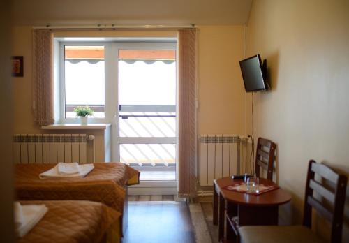 Гостиная зона в Мотель Вояж