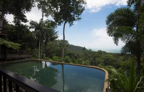 The swimming pool at or near The Barn Daintree Holiday House