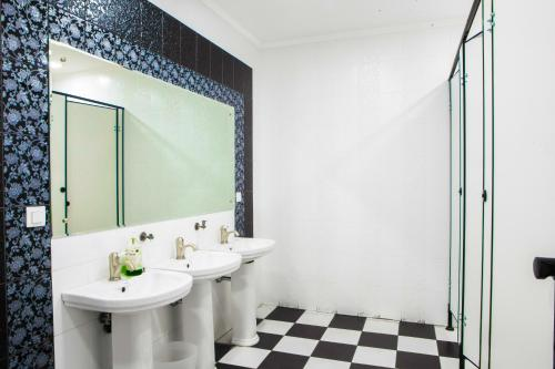 Ванная комната в Nereus Hostel near Kremlin