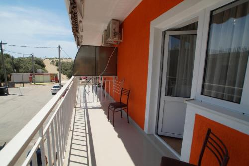A balcony or terrace at Апельсин Витязево