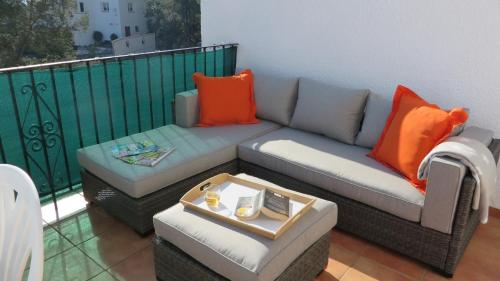 A seating area at *Casa Anna L'Atzubia