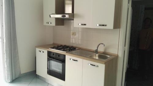 A kitchen or kitchenette at La Vecchia Locanda