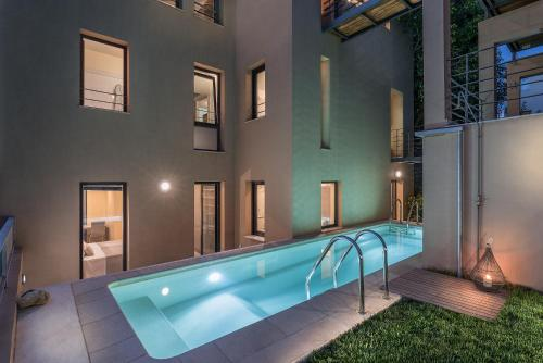 The swimming pool at or close to Luxury Pool House in Chania