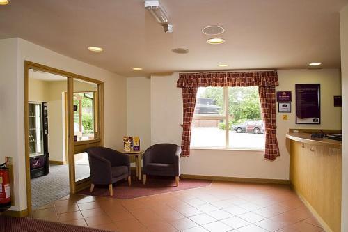 A seating area at Premier Inn Watford North