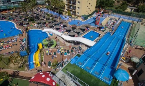 A bird's-eye view of Hotel Rosamar Garden Resort 4*