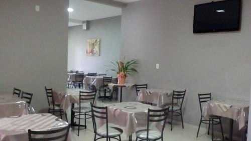 A restaurant or other place to eat at Hotel Descanso