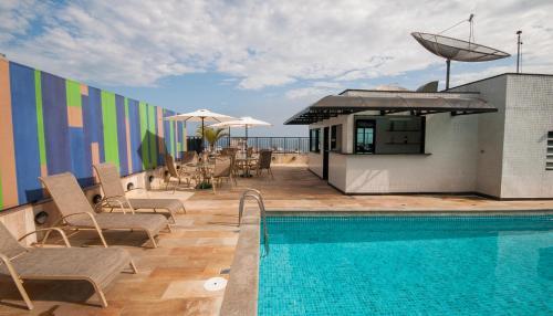 The swimming pool at or near Copacabana Mar Hotel