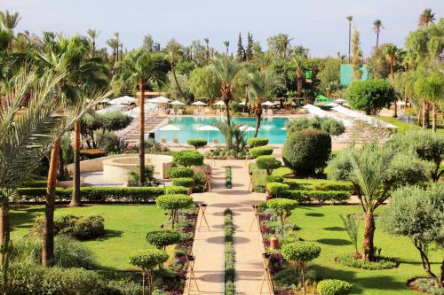 A view of the pool at Iberostar Club Palmeraie Marrakech or nearby